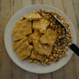 Koinonia Farm Handmade Peanut Brittle Above