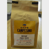 Decaf House Blend Full City Roast Fair Trade Coffee 1 lb bag whole bean