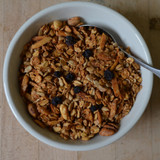 Koinonia Farm Blueberry Granola Above