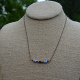Ekata Designs Handmade Ran Bar Necklace