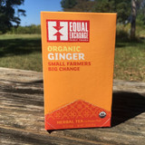 Equal Exchange Ginger Tea Box