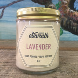 Eleventh Candle Co. Lavender 8 oz. Side