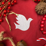 Christmas Ornament Seed Paper Dove