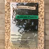 Organic Blanched Peanuts 5 lb Bag Label