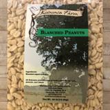 Organic Blanched Peanuts 30 lb Bag