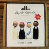 Peace Makers Peg Doll Set Front