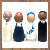 Peace Makers Peg Doll Set