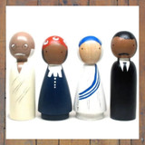 Peace Makers Peg Doll Set