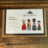 Peace Makers II Peg Doll Set Top