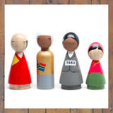 Peace Makers II Peg Doll Set