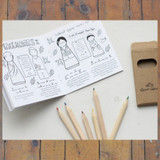 Goose Grease Coloring Activity Book and Coloring Pencils