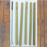 Bamboo straws & cleaner