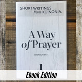 A Way of Prayer ebook Front Cover