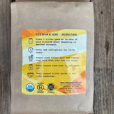 Cold Brew one pound bag back