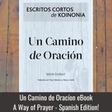 A Way of Prayer eBook - Spanish edition