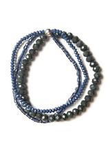 Sparkle Glass Bracelet- Blue