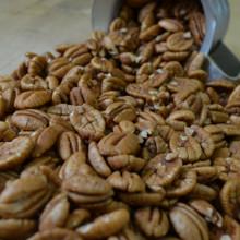Koinonia Farm Shelled Pecan Halves Close Up