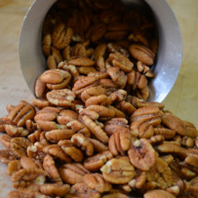 Hickory Smoked Pecans Mid