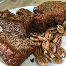 Koinonia Farm Homemade Date-Nut Bread Sliced