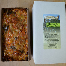 Koinonia Farm Homemade Honey-Nut Peach Cake full loaf