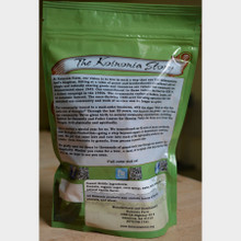 Koinonia Farm Handmade Peanut Brittle 8 oz. bag back