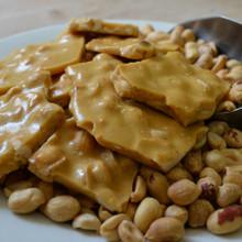 Koinonia Farm Handmade Peanut Brittle Close-Up 2