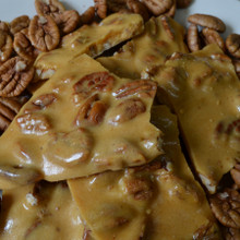 Koinonia Farm Handmade Pecan Brittle Close-Up