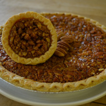 Koinonia Farm Handmade Pecan Pie Mini and Full Pie