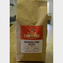 Koinonia Farm Blend Fair Trade Coffee by Cafe Campesino 2 lb bag whole beans