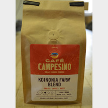 Koinonia Farm Blend Fair Trade Coffee by Cafe Campesino 1 lb bag whole bean