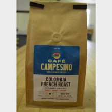 Fair Trade Coffee Colombia French Roast 1 lb bag whole bean