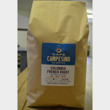 Fair Trade Coffee Colombia French Roast 5 lb bag whole bean
