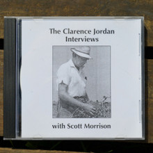 Clarence Jordan Interview by Scott Morrison CD Front Cover