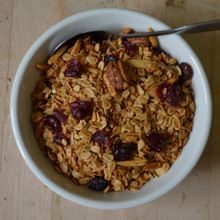 Cranberry Granola Koinonia Farm handmade from above