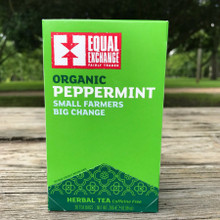 Fair Trade Organic Peppermint Tea by Equal Exchange
