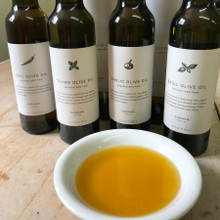 Infused Olive Oil Options with Bowl