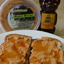 Raw Honey and Koinonia Farm Peanut Butter