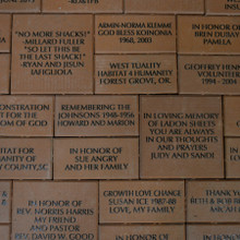 Commemorative Bricks