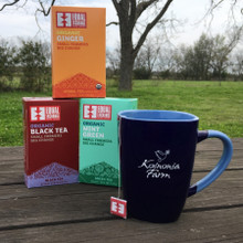 Koinonia Farm Mug Front with Koinonia Fair Trade Tea