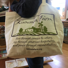 Koinonia Farm Tote Bag Model