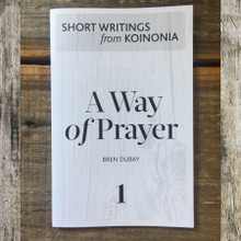A Way of Prayer Front Cover