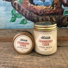 Cranberry Cider Candle Both Sizes