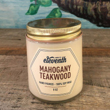 Mahogany Teakwood Candle 8 oz.
