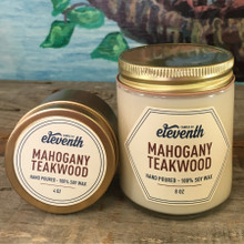 Mahogany Teakwood Candle Both Sizes