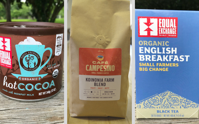 Fair Trade Coffee, Tea, Cocoa from Koinonia Farm