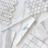 Calacatta Gold Italian Marble 2x2 Mosaic  Tile Polished
