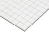 White Marble Italian Bianco Dolomiti1 inch by one inch Mosaic Tile Polished