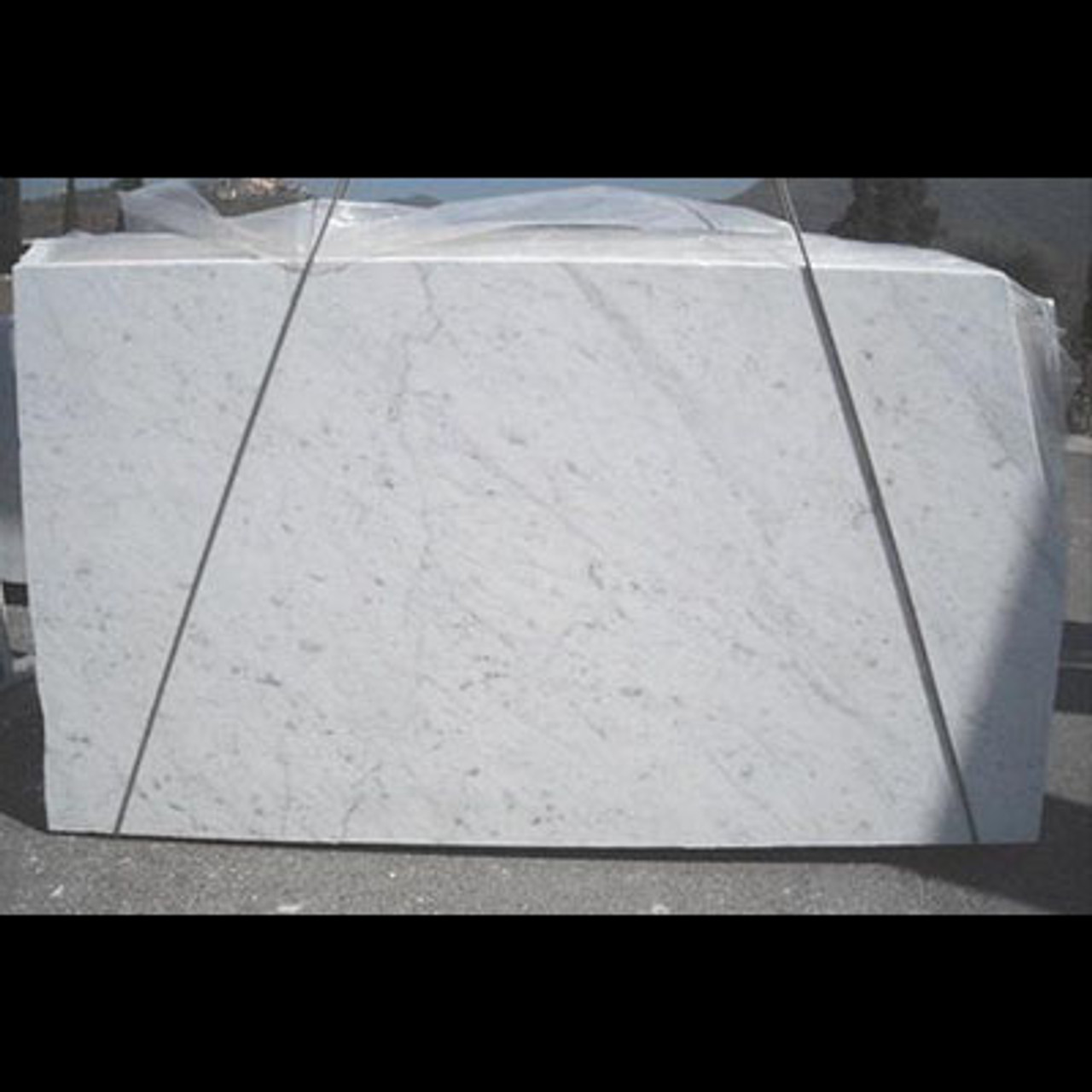 Carrara White Marble Slab 1 1 4 Thickness Honed