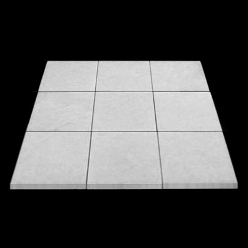 Statuary Crystal Marble Italian White Statuario 4x4 Marble Tile Polished