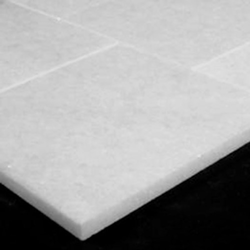 Statuary Crystal Marble Italian White Statuario 6x6 Marble Tile Polished